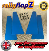 UNIVERSAL MINIFLAPZ  / SPLASH GUARDS - NITROUS BLUE